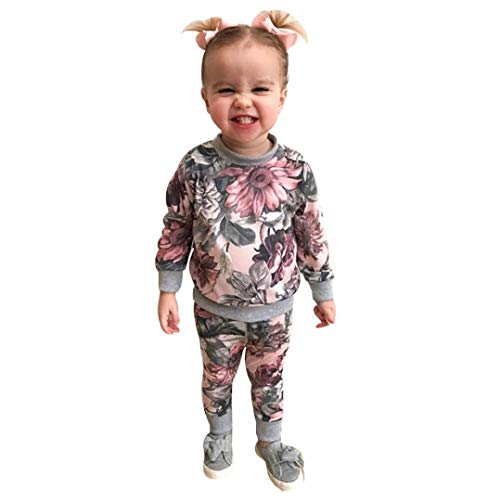 Unicorn Baby Clothes Baby Dolls Clothes Slayer Baby Clothes Newborn Baby Girls Clothes Coat T-Shirt Tops+Floral Pants Leggings Outfits Set Baby boy Clothes Sale Baby Sundress Preemie Baby boy Clothe