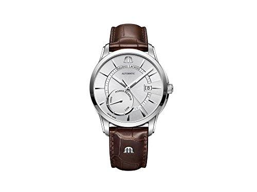 Maurice Lacroix PONTOS POWER RESERVE PT6368-SS001-130-1 Reloj Automático para hombres Clásico & sencillo