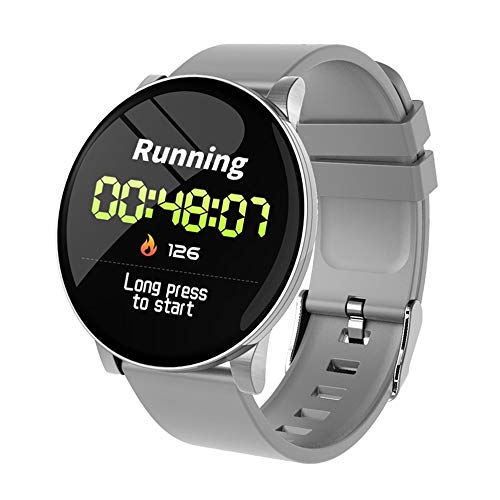 Bainuojia Fitness Tracker zum W8 Pulsmesser Wasserdicht Smart Armband Schlaf Monitor Wettervorhersage Uhren (Herzfrequenz-monitor-jugend)