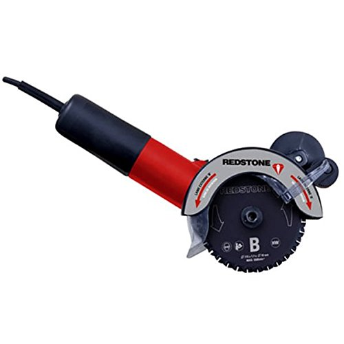 Redstone - Scie circulaire Double Lame multimatiériaux moteur 850 W Diamètre 115 mm