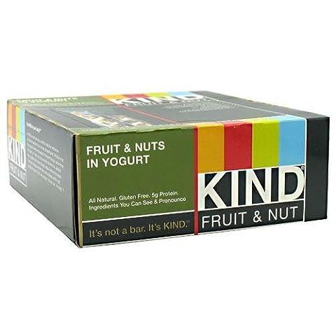 Fruits et noix dans le yogourt, 12 bars, 1,6 oz (45 g) Chaque - Bars KIND