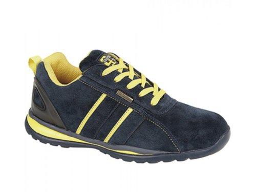 Grafters ,  Unisex - Erwachsene Sneaker Low-Tops Blau - blau