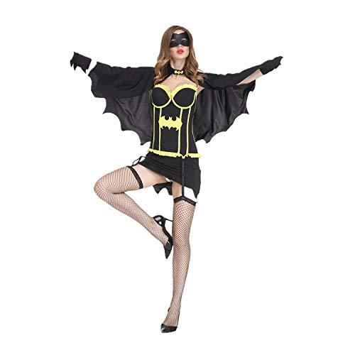 Batman Verkauf Für Kostüm - Cosplay Festival Performance Kostüm für Batman Holiday Kleider (L, Schwarz)