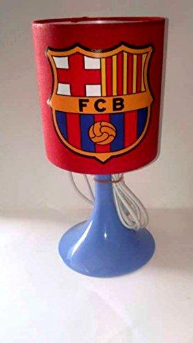 Lampe de chevet de création L'idée'All Lampe à poser enfant - Foot FC BARCELONE