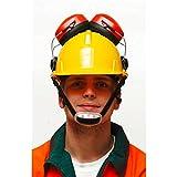 DEMA Schutzhelm / Bauhelm mit Gehörschutz -
