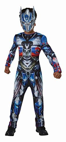 Transformers Kinder Kostüm Optimus Prime 9 bis 10 Jahre