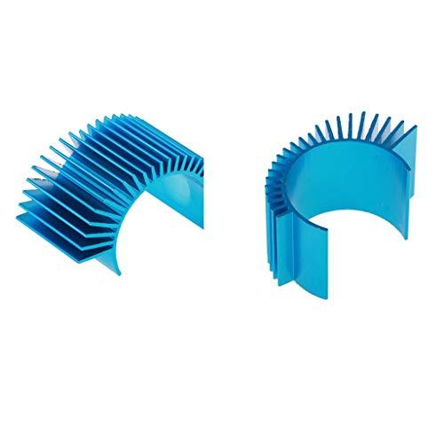 MagiDeal 2pcs Kühlkörper für 1/10 RC Rennauto Motor 540 545 550 560 , Motorkühlung Zubehör