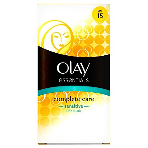 Olay Complete Care Sensitive Daily SPF15 Fluide Hydratant (100 ml) - Paquet de 6