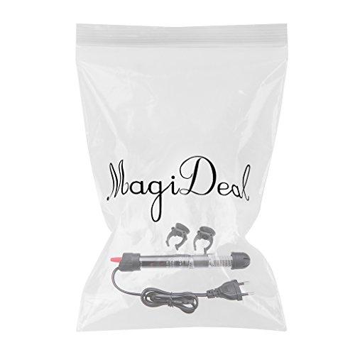 MagiDeal 25-300 Watt Aquarium Glas Heizstab, Heizer, Regelheizer, Heizung, für Aquarium Süß Meerwasser – 50w - 2