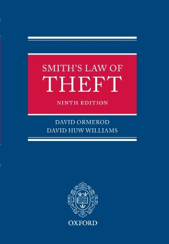 Smith: The Law of Theft by David Ormerod (2007-12-07)