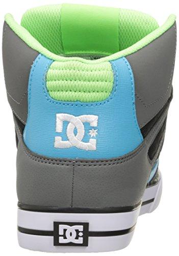 DC Shoes Spartan HI WC Shoe D0302523, Baskets mode homme Grey/Green/Blue