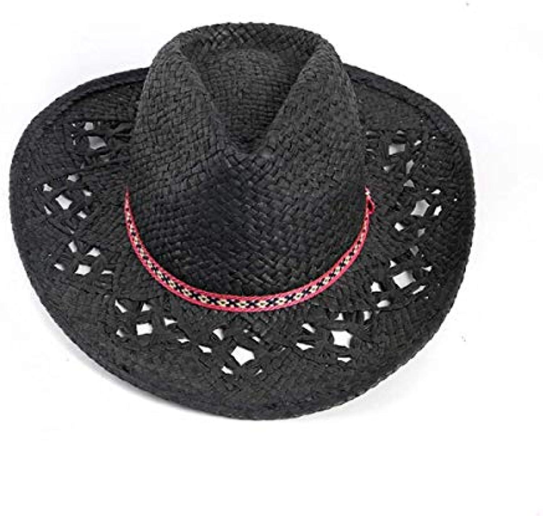 Laisla fashion Cappello da Cowboy Cappello Estivo da Donna Cappello Paglia  da Paglia Cappello Selvaggio Classiche Cappello da... Parent 26c95c faccbf913d2c