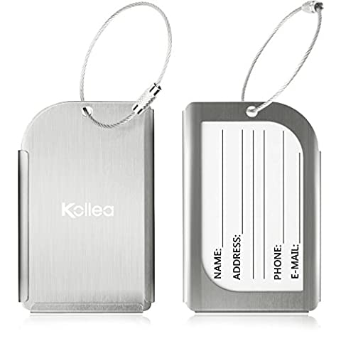 Luggage Tag, Kollea [ 2 Pack ]