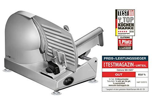 Altezza: 285 mm · Colore: Argento · Dimensione, profondità: 415 mm · Larghezza: 275 mm · Larghezza di taglio (max.): 15 mm · Materiale: Alluminio colato sotto pressione, Metallo · Peso: 4 kg · Potenza: 150 W · Tipo di elettrodomestici (categ...