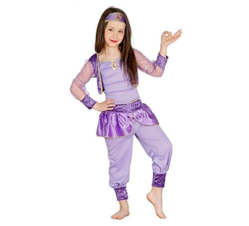 Guirca Orientalische Prinzessin Tänzerin Bauchtanz Arabische Kinder Kostüm Gr. 98-134, Größe:110/116