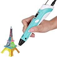 Robocraze 3D Pen-2 Professional | 3D Printing Drawing Pen with 3 x 1.75mm ABS/PLA Filament for Creative Modell