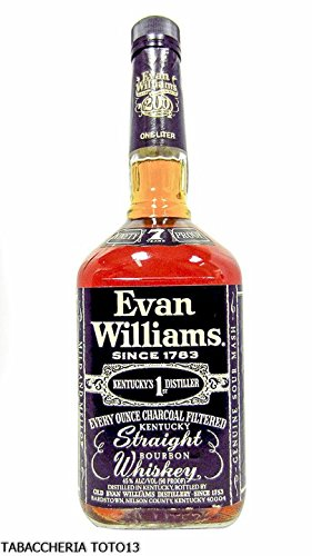 EVAN WILLIAMS DISTILLERY - EVAN WILLIAMS KENTUCKY STRAIGHT BOURBON 7 YEARS VOL. 40% CL. 70