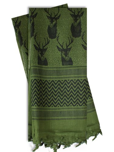 red-rock-outdoor-gear-shemagh-head-wrap-one-size-trophy-buck-olive-drab-black