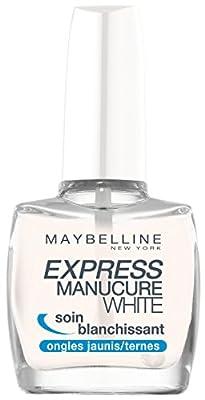 Gemey Maybelline Express Manicure Base Coat White Whitening Care
