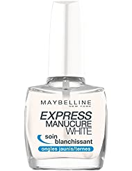 GEMEY MAYBELLINE Express Manucure Base Coat White Soin Blanchissant