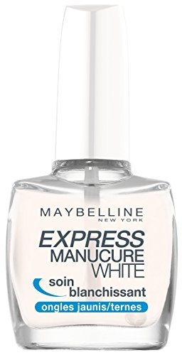 Maybelline New York Express Manucure Base Coat White Soin Blanchissant
