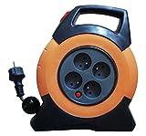 Enexo, Aufrollautomatik Automatik Ratschenspanngurt Ratsche Gurt Ratschengurte -Nf-automatischer Schlauchaufroller (10 M Kabel Ho5Rr-F 3G1, 5 mm