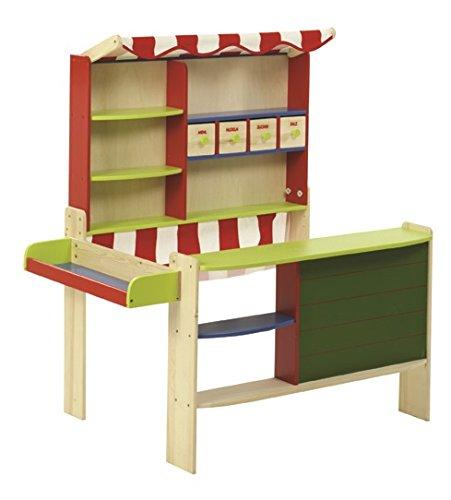 Preisvergleich Produktbild Roba 9793 Kaufladen mit Tafel und Stoffdach