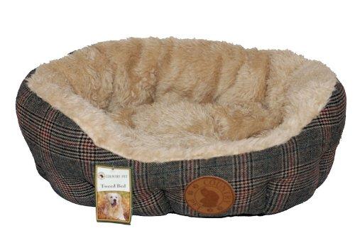 Choisir à partir dune Gamme de Tailles William Hunter Equestrian Country Pet Lit pour Chien en Tweed Luxueux  Fait à la Main à partir des en Tweed Tissu