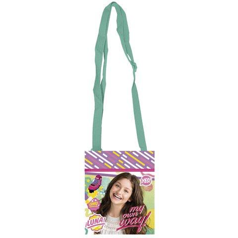 Soy Luna - Pochette petit sac à bandoulière pour enfant 14 x 17 cm