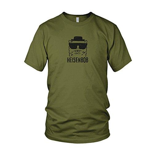 Heisenbob - Herren T-Shirt, Größe: L, Farbe: army (Spongebob Schwammkopf Dvd-box)