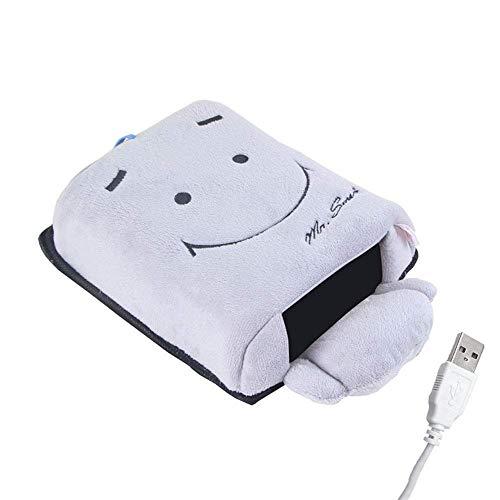 Mutang scaldamani riscaldati usb scaldamani mouse pad plug-in fever caldo guanti guanti braccialetto invernali invernali tabella plug-in riscaldamento scaldamani (colore : b)