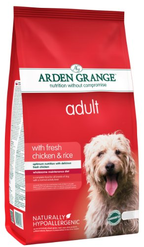 Arden Grange Adult Dry Dog Food Chicken & Rice, Chicken, 2 Kg