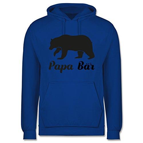 Shirtracer Vatertag - Papa Bär - XXL - Royalblau - JH001 - Herren Hoodie