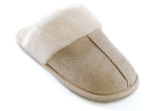 Slumberz, Pantofole donna Beige (Stone)