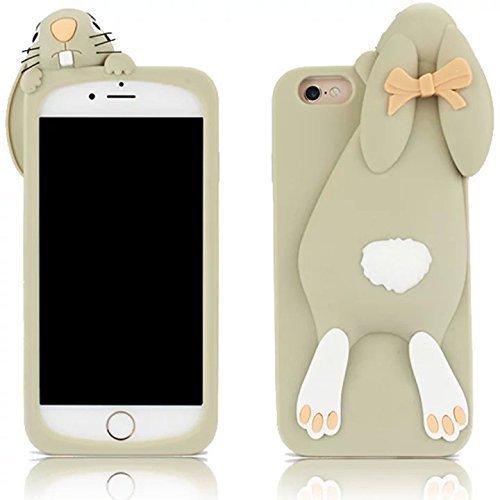 Phenix-Color iPhone 7Plus Fall, Express Prime Fall, 3D Cute Cartoon Hello Kitty Weich Silikon Gel Back Cover Schutzhülle für 14cm iPhone 7Plus (2016Release) Fall AMP Prime, 04