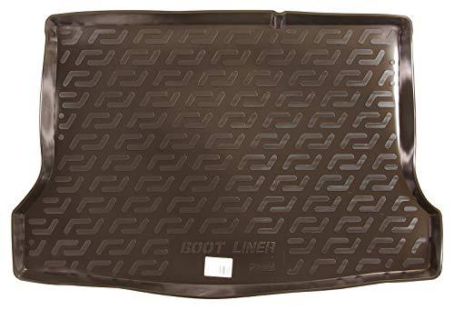 SIXTOL Auto Kofferraumschutz für die Nissan Pulsar Hatchback Maßgeschneiderte antirutsch Kofferraumwanne für den sicheren Transport von Einkauf, Gepäck und Haustier