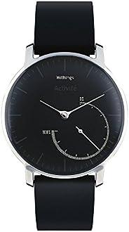 Withings Activité Steel - Smartwatch mit Aktivitäts- und Schlaftracker - Mineraglas & Edelstahl - B