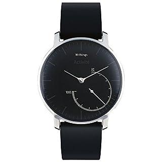 Withings Activité Steel - Smartwatch mit Aktivitäts- und Schlaftracker - Mineraglas & Edelstahl - Black (B018SL790Q) | Amazon Products