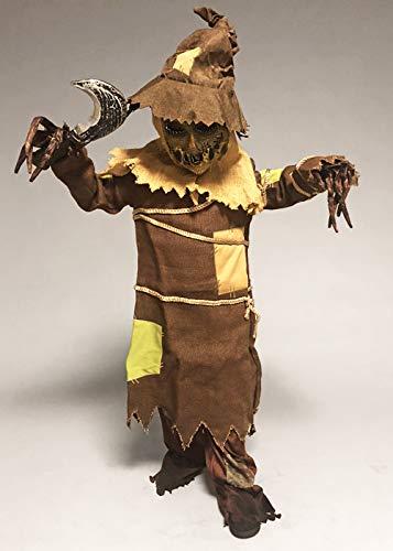 Scarecrow Kostüm Kinder - Kinder und Teen Größe Halloween Zombie Scarecrow Kostüm XL (12-14 Years)