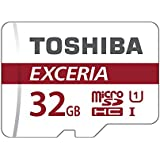 Toshiba EXCERIA M302-EA 32GB MicroSDHC UHS-I Class 10 memoria flash - Tarjeta de memoria (MicroSDHC, -25 - 85 °C, Rojo, Color blanco, -40 - 85 °C, UHS-I, Class 10)
