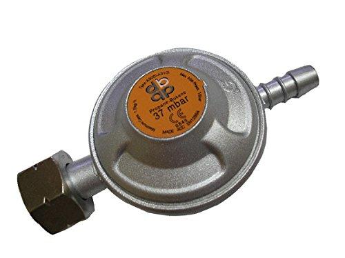37 mbar Butan-Gasflasche Regler 1/2 BSP-Anschluss - passt calor Schraube Flasche - Flasche Brenner