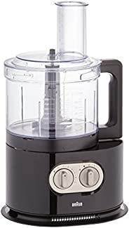 Braun Food Processor With Spin Juicer, Black, 1000 Watts, Fp 5160