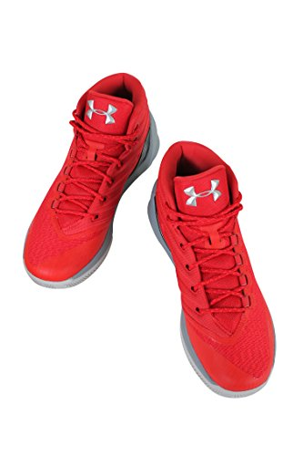 Under Armour Curry 3 Synthétique Baskets rouge