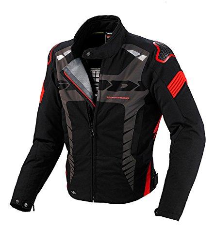 Giacca da Moto Spidi Warrior Sport H2Out WP-Rosso, colore: nero