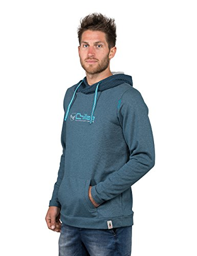 Chillaz Herren Crossneck Outdoor Vision Hoody, Dark Blue, M