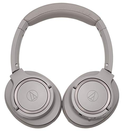 Audio-Technica ATH-SR50BT Kabelloser Over-Ear Kopfhörer, grau - 4