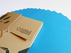 origami paper 100 sheet gift set pantone cyan amazonco