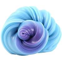 Tefamore Fluffy Floam Slime Squishy UV decoloración decoloración no magnético de rebote barro