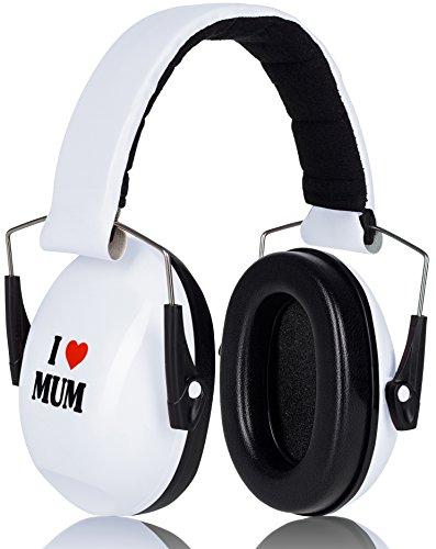 I Love Mum Prime Deal Gehörschutz Kinder Weiß Verstellbar Baby ab 12 Monate - Internet-kopfhörer