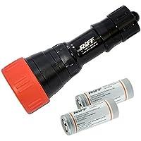 Riff TL 3000 MK3 Tauchlampe inkl. Ersatzakku - Sparset